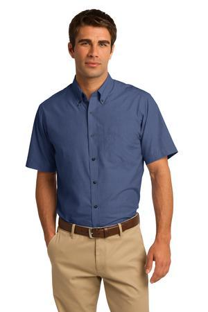 Port Authority® Short Sleeve Crosshatch Easy Care Shirt. S656