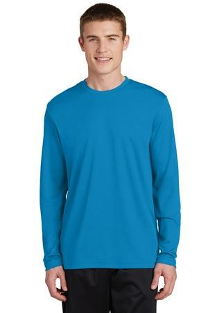 Sport-Tek® PosiCharge® RacerMesh™ Long Sleeve Tee. ST340LS