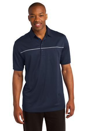 DISCONTINUED Sport-Tek® PosiCharge® Micro-Mesh Piped Polo. ST686