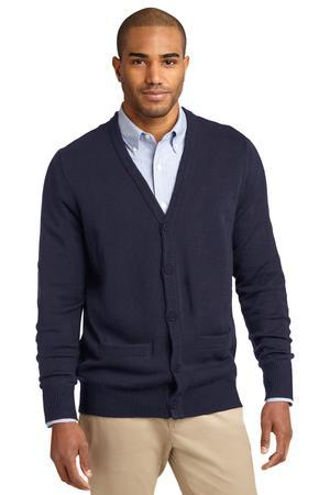 Port Authority® Value V-Neck Cardigan with Pockets. SW302