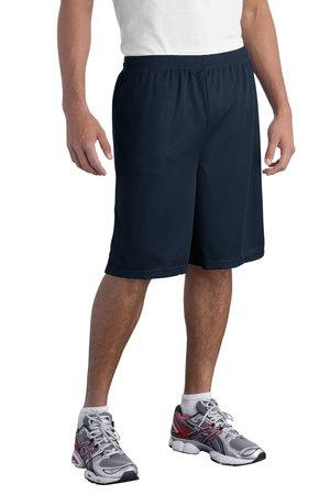 DISCONTINUED Sport-Tek® Long Mesh Short. T515