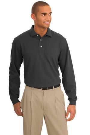 Port Authority® Tall Rapid Dry™ Long Sleeve Polo. TLK455LS