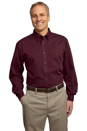 Port Authority® Tall Tonal Pattern Easy Care Shirt. TLS613