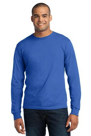 Port & Company® - Long Sleeve All-American Tee. USA100LS