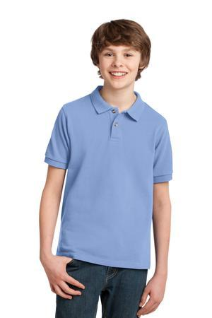 Port Authority® Youth Pique Knit Polo. Y420