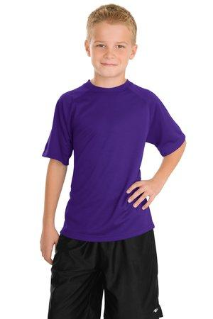 Sport-Tek® Youth Dry Zone® Raglan T-Shirt.  Y473
