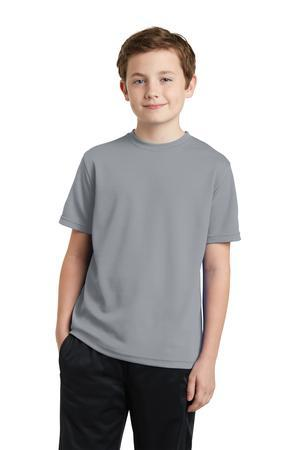 Sport-Tek® Youth PosiCharge® RacerMesh™ Tee. YST340