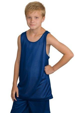 CLOSEOUT Sport-Tek® Youth Reversible Mesh Tank. YT500